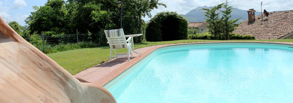 bed & breakfast con piscina